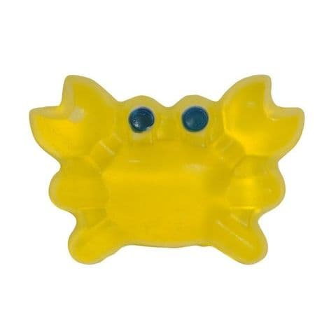 Tropical Scented Yellow Crab Novelty Soap - Bath Bubble & Beyond 140g