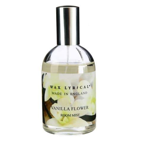 Vanilla Flower Scented Room Mist Spray Made In England Wax Lyrical 100ml