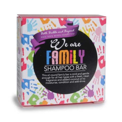 WE ARE FAMILY Green Fresh Mild Gentle Hair Shampoo Bars - Bath Bubble & Beyond 50g