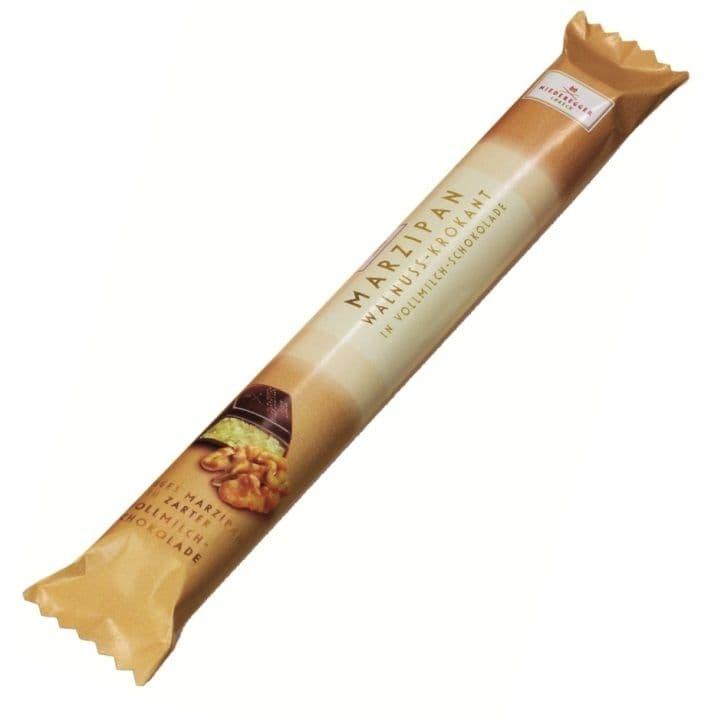 Walnut & Rum Long Stick Milk Chocolate Marzipan NIEDEREGGER 40g