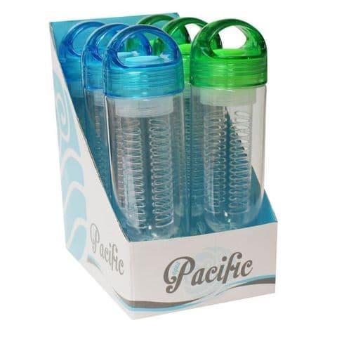 Water Bottle Fruit Infuser 660ml by Pacific Bonnington Plastics