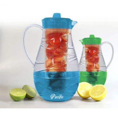 Water Jug Fruit Infuser 2.3l by Pacific Bonnington Plastics