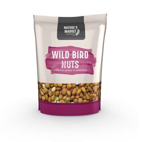 Wild Bird Nuts Peanuts For Garden Birds Bag Kingfisher Bird Care 1kg