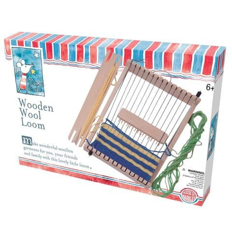 Wooden Wool Loom By House Of Marbles - Age 6 Plus