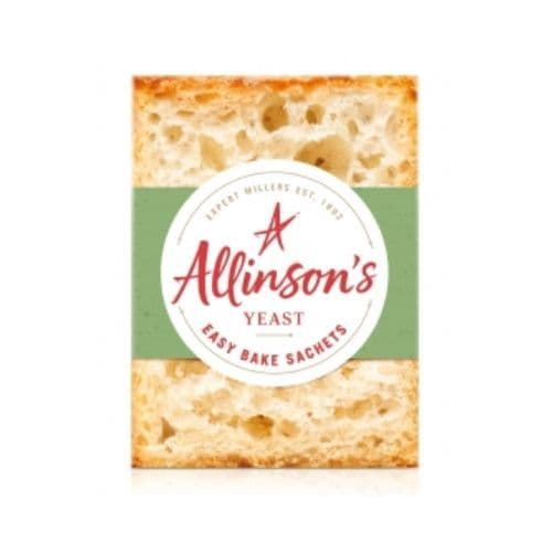 Allinson's Easy Bake Instant Yeast 42g (6 x 7g Sachets)