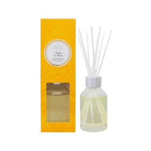 Amber & Rose Scented Reed Diffuser 100ml - Shearer Candles