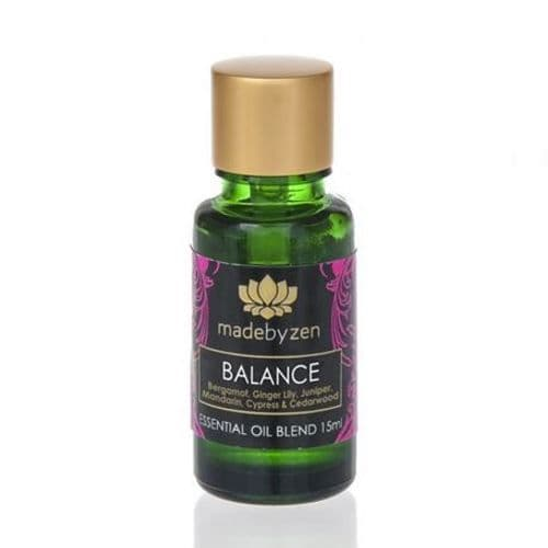 BALANCE Purity Range - Scented Essential Oil Blend Made By Zen 15ml