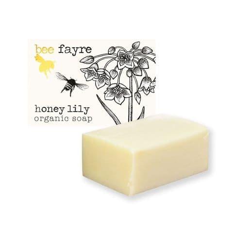 Bee Sweet Honey Lily Organic Soap Beefayre 100g