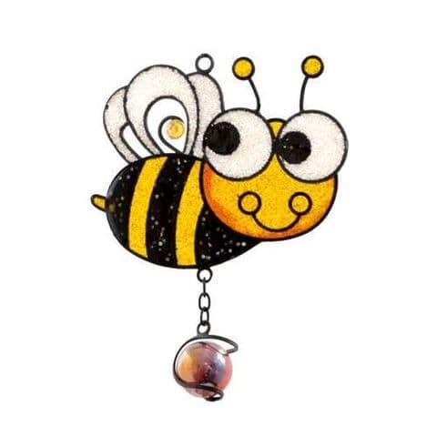 Bee Windchime - 62cm Hanging  Garden Sun Catcher Wind Chimes