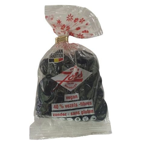 Belgas Sweet Hard Liquorice Rounds Coins Gift Bag Joris 130g