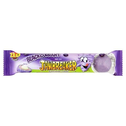 Blackcurrant Jawbreaker 4 Pack Zed Candy Novelty Bubblegum Sweets