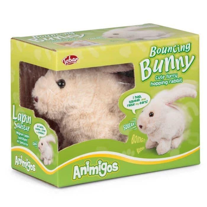 Bouncing Bunny Animigos Plush Toy Tobar 18m+