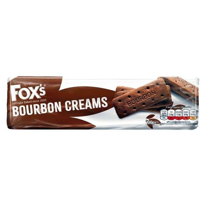 Bournbon Creams Biscuits Fox's 200g