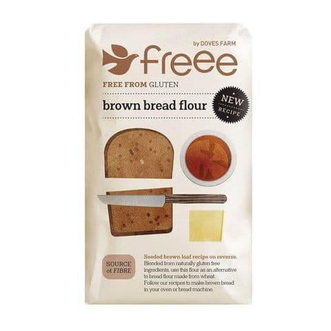 Brown Bread Flour Gluten Free Doves Farm 1kg