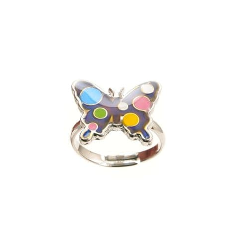 Butterfly Mood Ring - Thoroughly Modern Miss House Of Marbles Age 5+
