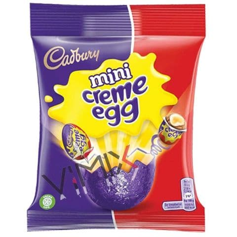 Cadbury Creme Egg Mini Eggs Bag 78g
