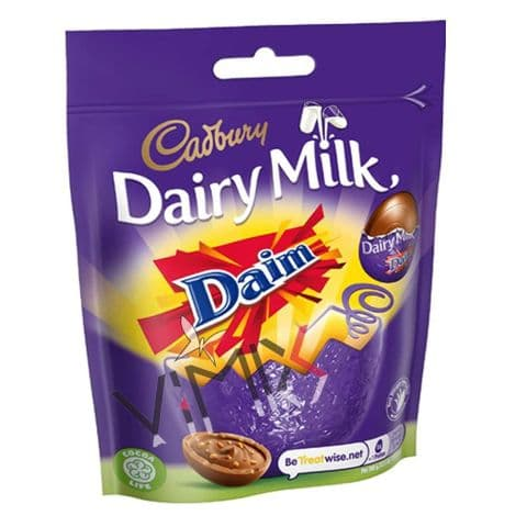 Cadbury Dairy Milk Daim Mini Eggs Bag 77g