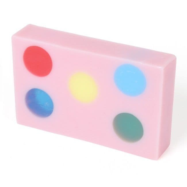 Candy Girl Bubblegum Glycerin Soap Slice - Bath Bubble & Beyond 120g