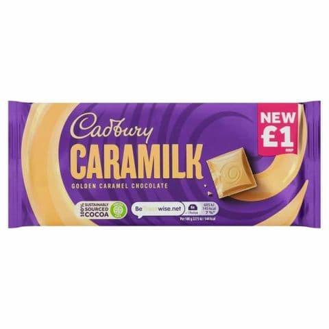 Caramilk Golden Caramel Chocolate Bar Cadbury 80g