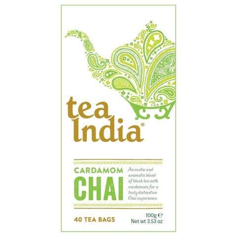 Cardamom Chai Tea India 100g (40 Tea Bags)