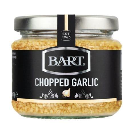 Chopped Garlic In White Wine Vinegar Bart 190g