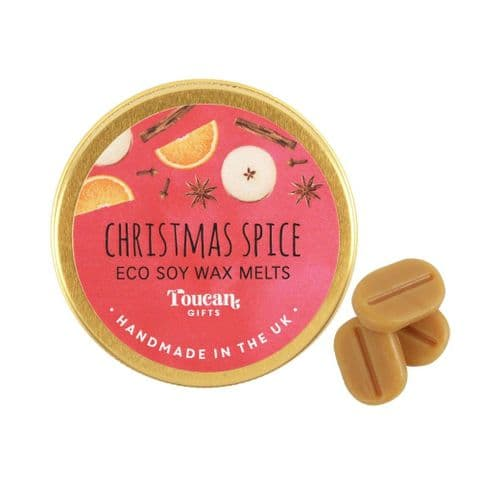 Christmas Spice - Christmas Eco Soy Wax Melts Magik Beanz Busy Bee Candles