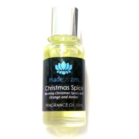 Christmas Spice - Signature Scented Fragrance Oil Made By Zen 15ml