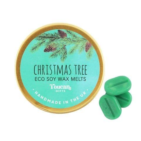 Christmas Tree - Christmas Eco Soy Wax Melts Magik Beanz Busy Bee Candles