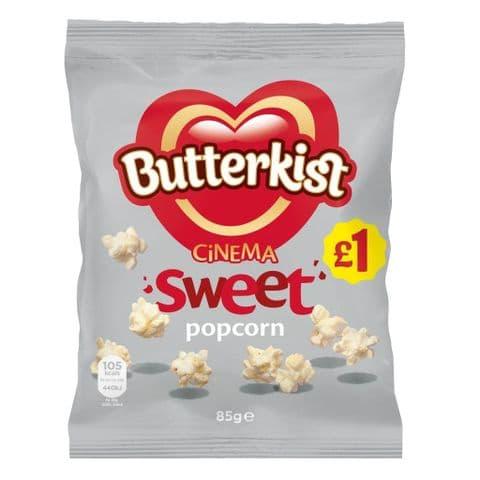 Cinema Sweet Popcorn Butterkist Share Bag 76g