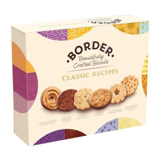 Classic Recipe Selection Gift Box Cookies - Border Biscuits 400g