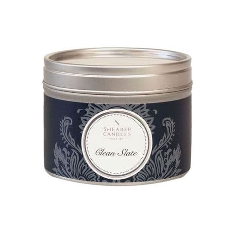 Clean Slate Scented Filled Tin - Shearer Candles