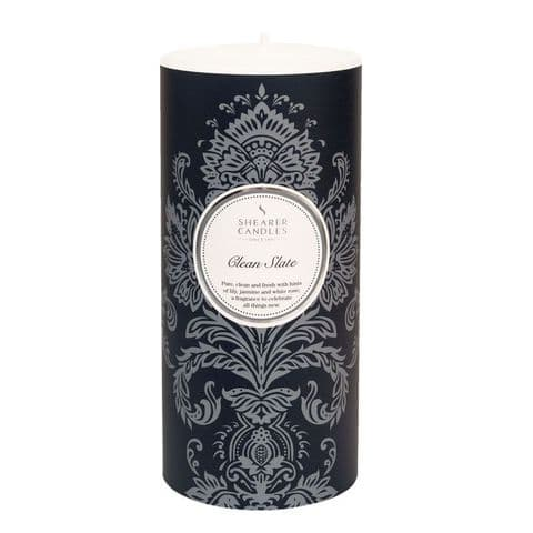 Clean Slate Scented Pillar Candle - Shearer Candles
