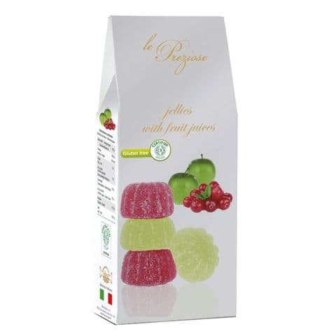 Cranberry & Green Apple Italian Fruity Jellies Sweets Le Preziose 200g