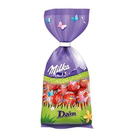 Daim Dime Milk Melk Lait Chocolate Mini Easter Eggs - Milka Bag 100g