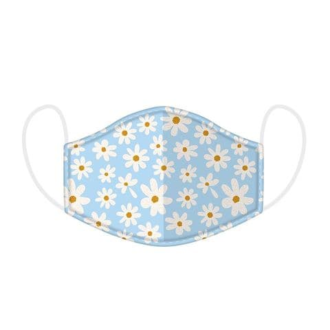 Daisy Reusable Adult Face Covering Washable 2 Layer Soft Mask