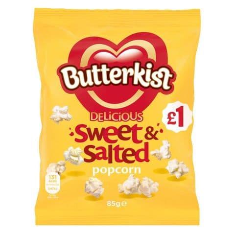 Delicious Sweet & Salted Popcorn Butterkist Share Bag 76g