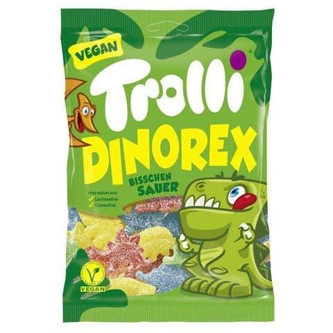 Dinosaur Vegan Gummy Sweets Dino Rex Trolli 200g