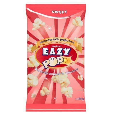 Eazy Pop Sweet  Microwave Popcorn Magicorn 85g
