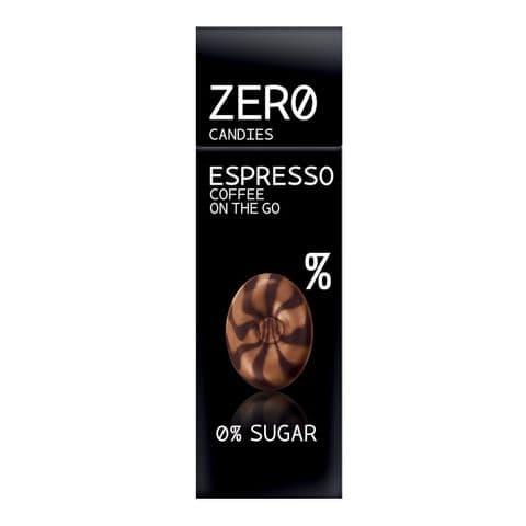 Espresso Coffee Hard Candy No Added Sugar Free Sweets Zero Candies 32g