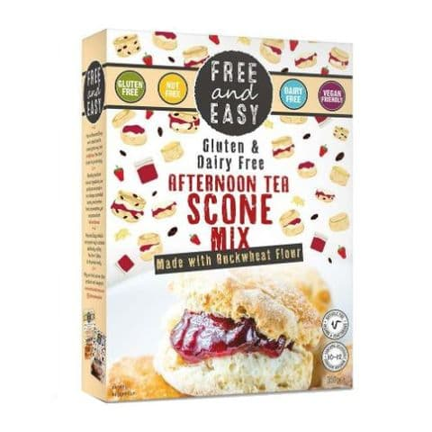 Free & Easy Afternoon Tea Scone Mix Gluten & Dairy Free 350g