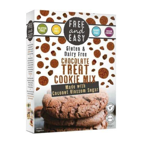 Free & Easy Chocolate Treat Cookie Mix Gluten & Dairy Free 350g