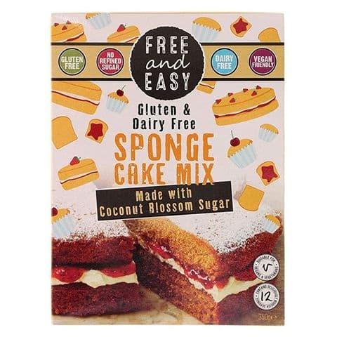 Free & Easy Sponge Cake Mix Gluten & Dairy Free 350g