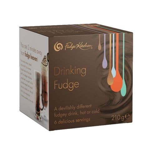 Fudge Kitchen Drinking Fudge Box Gift Set 210g (6 x 35g)