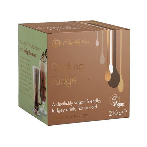 Fudge Kitchen Vegan Drinking Fudge Box Gift Set 210g (6 x 35g)