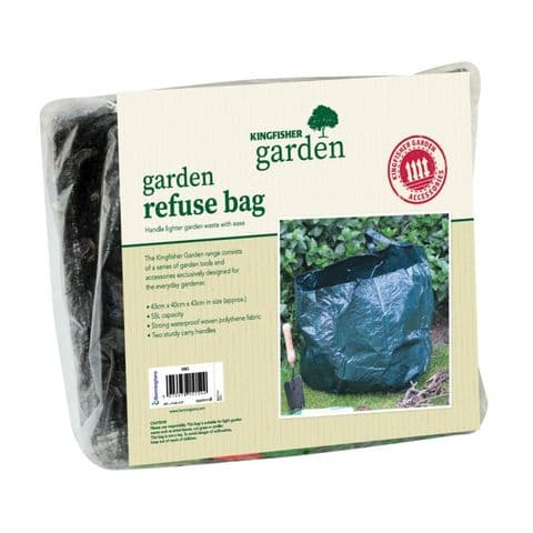 Garden Refuse / Growing Bag Kingfisher Gardening (Pack of 1)