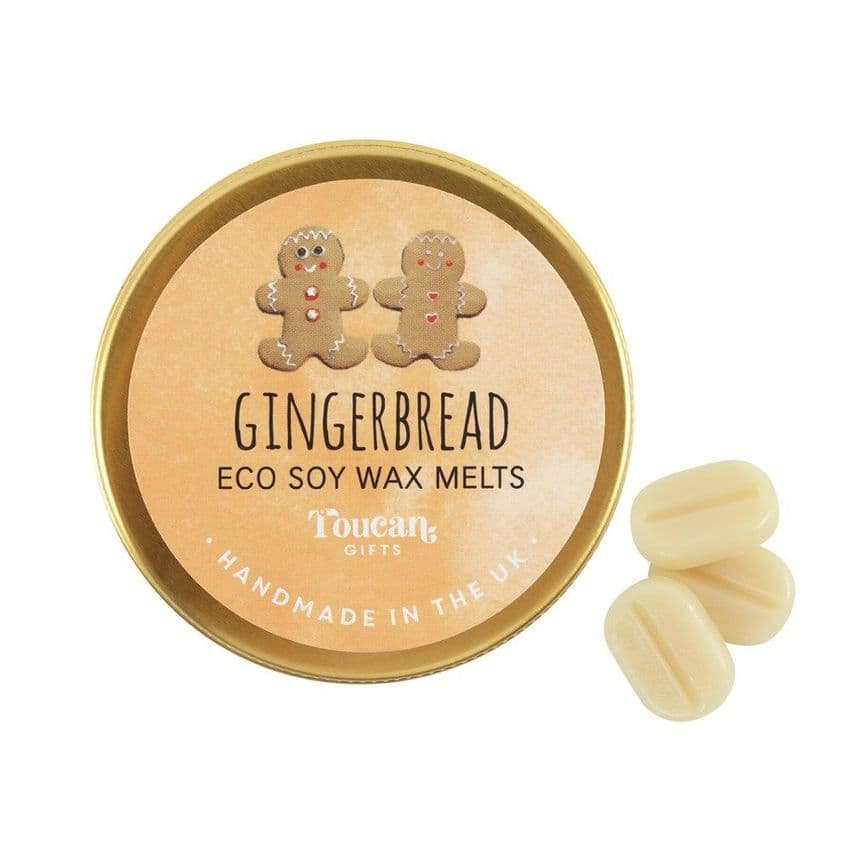 Gingerbread - Christmas Eco Soy Wax Melts Magik Beanz Busy Bee Candles