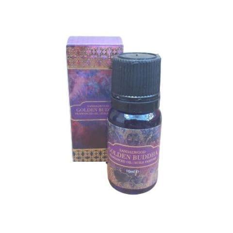 Golden Buddha Sandalwood Fragrance Oil 10ml