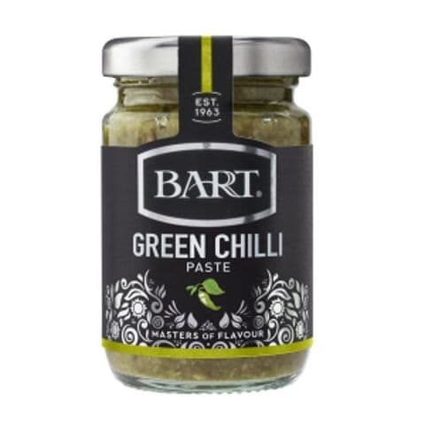 Green Chilli Paste Hot Spice Infusions Jar Bart 90g