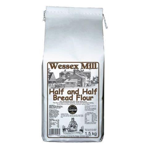 Half & Half Bread Flour Wessex Mill 1.5kg