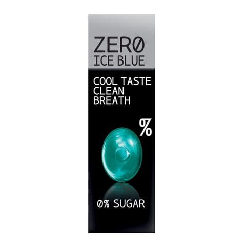 Ice Blue Hard Candy No Added Sugar Free Sweets Zero Candies 32g